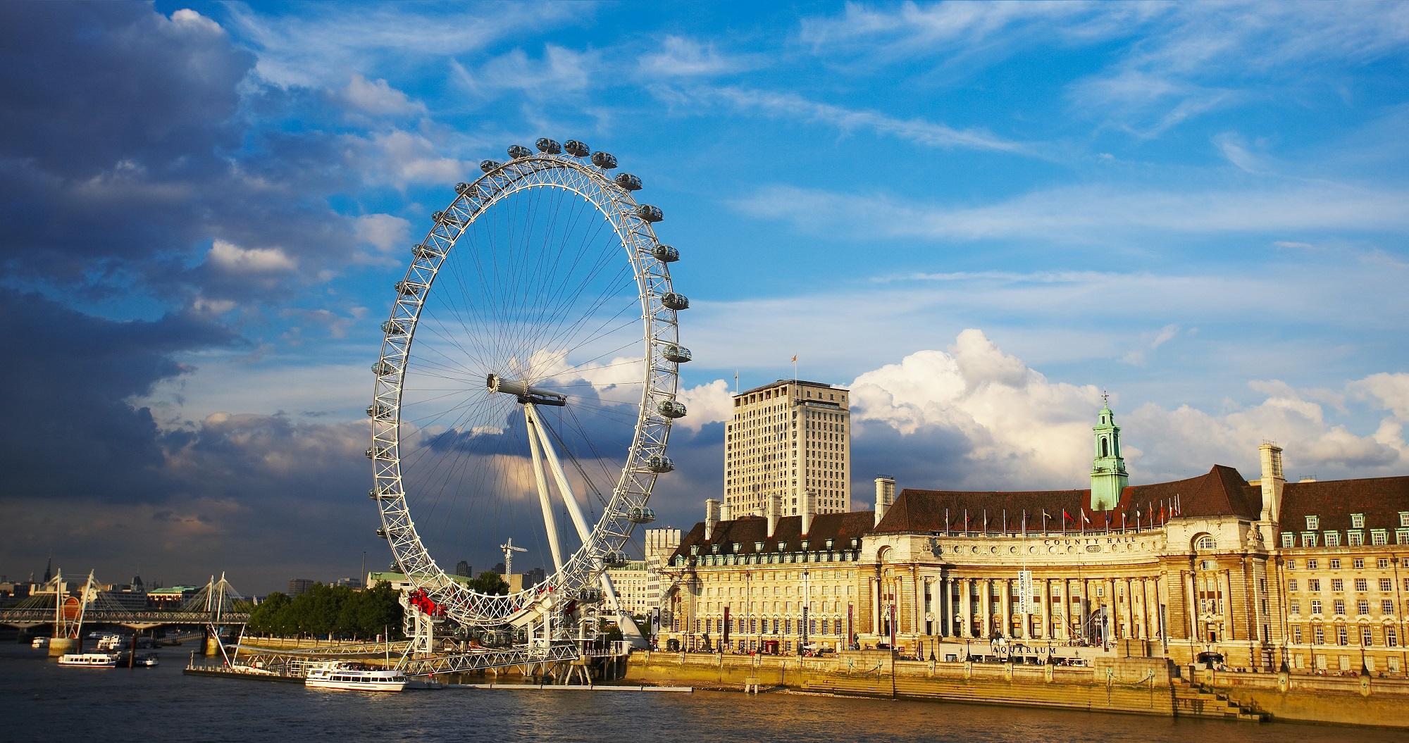 Лондонский глаз картинки
