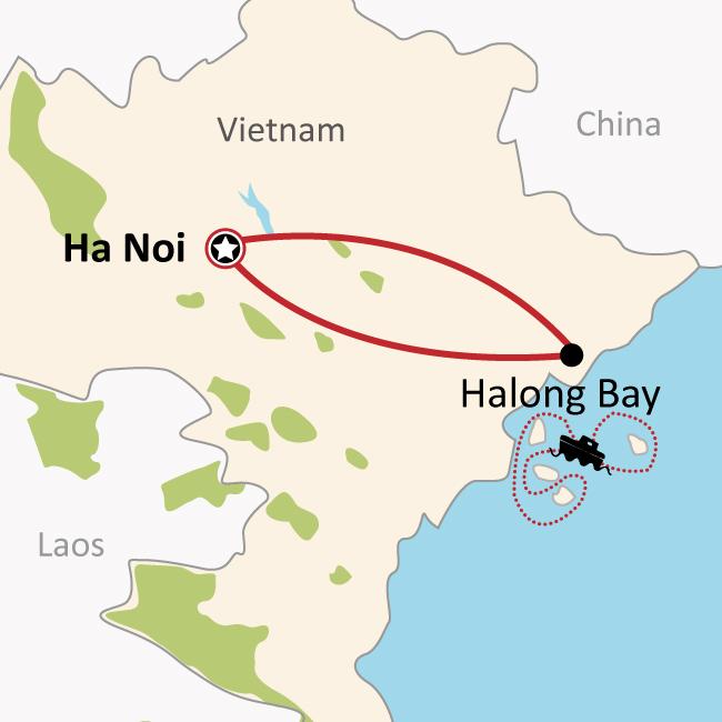 하노이 하롱베이 지도에 대한 이미지 검색결과